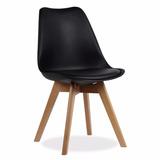 Silla Tulip Eames - Pata De Madera - Living Style