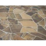 Pedra Ferro Basalto Irregular - Calçada E Piso