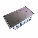 Picoleteira Em Alumínio Com Centralizador - 15 Picoles