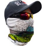 Máscara Proteção Solar Monster3x I Datena White