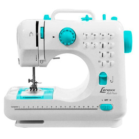 Máquina De Costura Portátil Lenoxx Multipoints Psm101 Bivolt