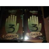 Libro Gravity Falls Diario 3 Nuevo Fisico Blanco Y Negro
