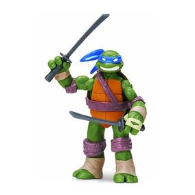Boneco Figura De Ação Tartarugas Ninja Leornardo 12cm Br030