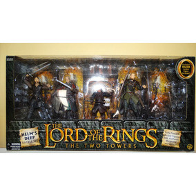 Senhor Dos Aneis - Helms Deep Box Set. Aragorn Toy Biz