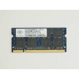 2gb (2x1gb) Memoria Ram Sodimm Ddr2 667mhz / Pc2-5300 Nanya