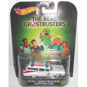 Hot Wheels Cazafantasmas Ghostbusters Cartoon Solo Envios