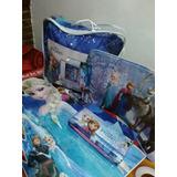 Disney Frozen Sabanas Infantil+ Acolchado + Alfombra