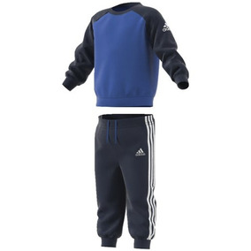 Conjunto Pants Con Sudadera Sports Crew Bebe adidas Bp5285
