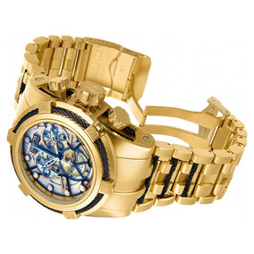 d5c61008312 Relógio Invicta Bolt Zeus 13757 Gold Skelecton Original ! - Relógios ...