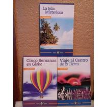 Libros Paquete De 3 5 Semanas En Globo, La Isla Misteriosa