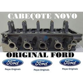 Cabeçote Fiesta 1.0 8v 2009 Motor Zetec Rocam Ford Original