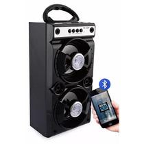 Caixa Caixinha Som Portátil Bluetooth Mp3 Usb Cartão Fm 200w