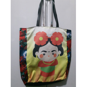 Bolsa Sacola Em Tecido - Frida Kahlo - Frete Grátis