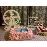 Tortas Infantiles Con Lámina Para 40 +15cupcakes+15cookies