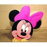 Centro De Mesa Infantil Minnie Mouse Madera Mimi Mouse