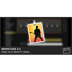 Mainstage 3 Version 3.3.2