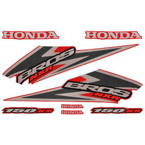 Kit Adesivos Honda Nxr 150 Bros Ks 2006 Vermelha