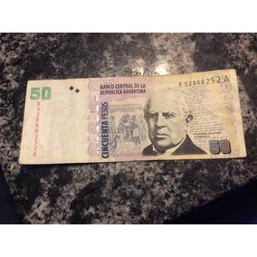 Billete 50 Pesos Reposición Serie A