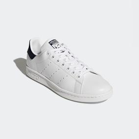 buy online f2add 9ee7c Tenis Zapatillas adidas Stan Smith Blanca Negra Hombre Env G