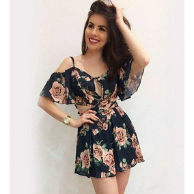 Vestido Feminino Florido