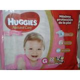 Combo Huggies X2pack 350 Efect Natura Care Ellas Minnie
