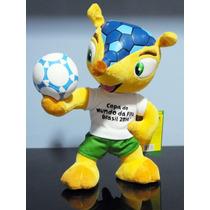 Boneco Fuleco Mascote Copa Brasil 2014 Futebol Tatu Bola G G