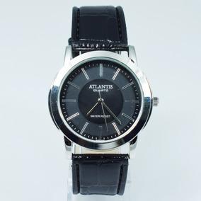 Relógio Unissex Atlantis Pulseira De Couro Ecológico