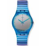 Reloj Swatch Gl117 Flexicol Elastizado Acero Agente Oficial