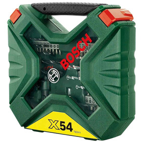 Kit De Acessórios X-line Com 54 Peças - Bosch