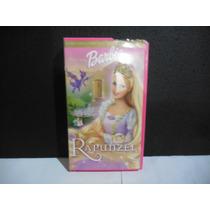 Barbie Rapunzel, Pelicula, Vhs