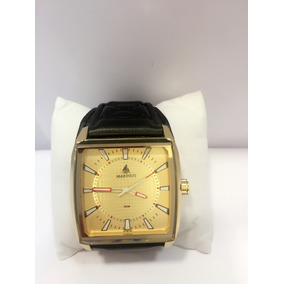 Relógio Masculino Marinus Bracelete De Couro
