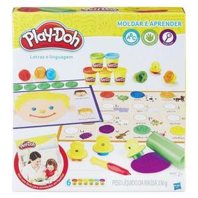 Brinquedo Hasbro Massinha Playdoh Letras E Linguagem Br3407