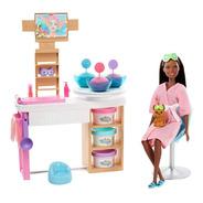 Boneca Barbie Salão De Beleza Spa De Luxo - Mattel