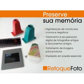 Digitalização De Monóculos / Negativos / Slides / Fotos