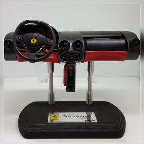 Miniatura Réplica Painel Enzo Ferrari Escala 1:6 Vermelha