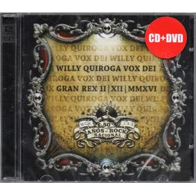 Willy Quiroga Vox Dei Gran Rex 02.12.16 Cd + Dvd Disponible