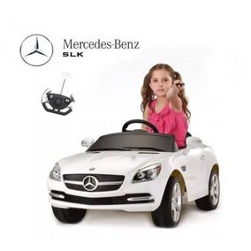 Mercedes Benz Slk Auto A Batería 6v Niños