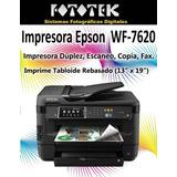 Impresora Epson Wf-7620
