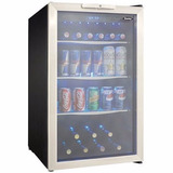 Frigobar Danby Temp Ajustable Acero Inoxidable Led 124latas