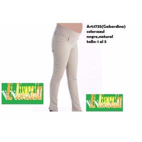 Pantalon Futura Mama Chupin Gabardina