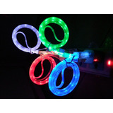 10 Cabo Usb Com Led Para Iphone 5 5s 5c 6 Plus Ipad 4 Ultra