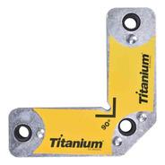 Esquadro Magnético 7kg 5306 Titanium