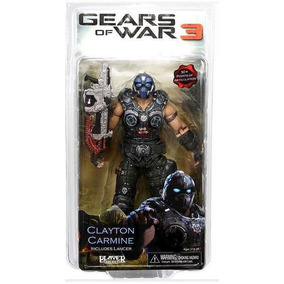 Neca Gears Of War 3 Clayton Carmine Gow Lancer 18cm