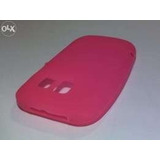 Capa Tpu + Película Plást Celular Microsoft Nokia Asha 302