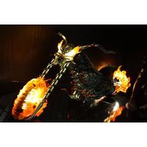 Só A Moto Hot Toys Ghost Rider Motoqueiro Fantasma Hellcycle
