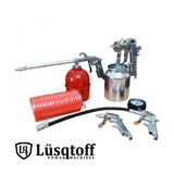 Kit Compresor Sopletear-inflar-lavar-pintar 5 Piezas Pintumm