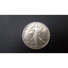 Eua Estados Unidos Half Dollar De Prata 1935 - Mbc