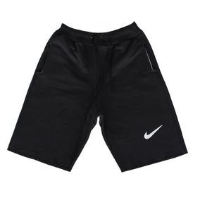 Kit 5 Short Bermuda Moletom Nike Masculino Casual Tradiciona
