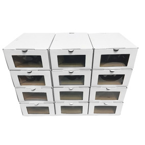 Caja Organizadora Zapatos - 12 U (h/ T.46) Eco M.env.2018