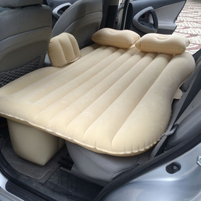 Colchon Inflable Auto Air Bed Beige